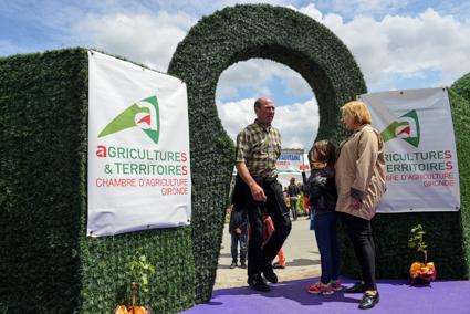 Tours Détours et Contours - Salon de l\'Agriculture Aquitaine 2014