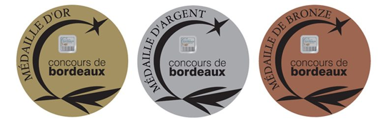 médailles concours vins Bordeaux Aquitaine