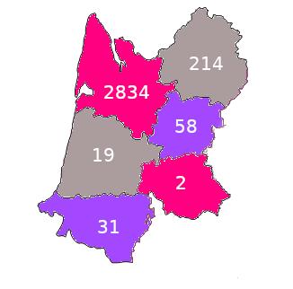 répartition géographique vins CBVA2019