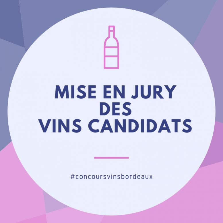 mise en jury concours vins bordeaux