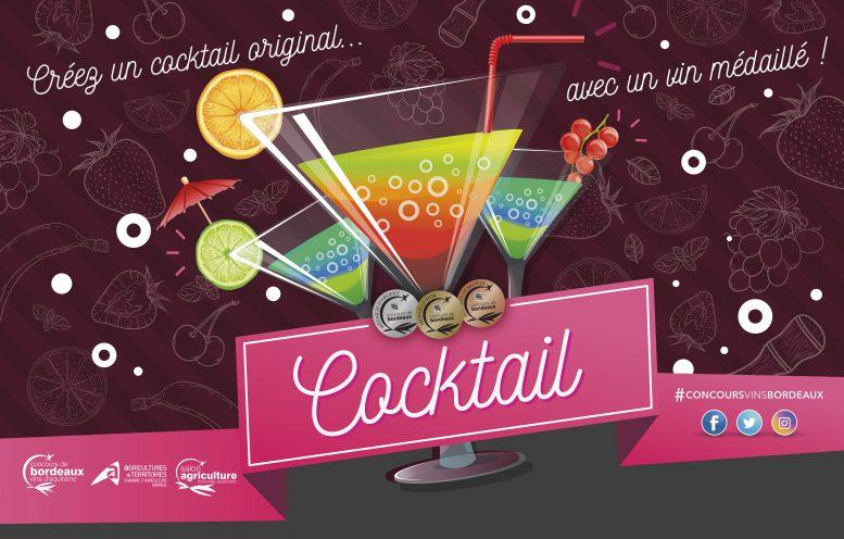 créez un cocktail original avec un vin médaillé