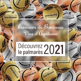 Découvrez le palmarès du concours de bordeaux 2021